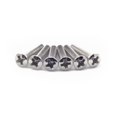 Chrome Oval Head Pickup Height Screw (Stratocaster)