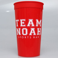 Personalized 32 oz. Stadium Cups (Set of 50)