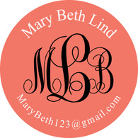 Large Round Recruitment Stickers (pack of 12)