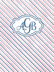 Recruitment Folder - Blush & Navy