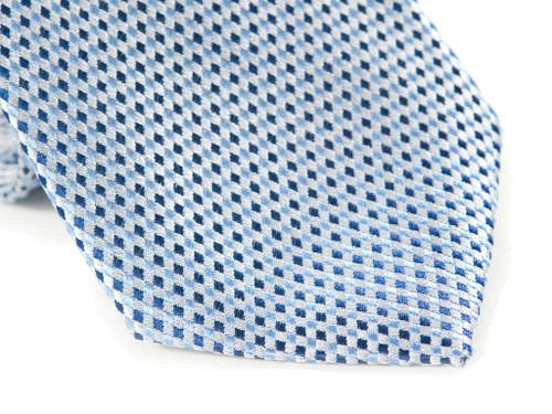 Jack Franklin Tiny Blue Diamonds Men's Tie