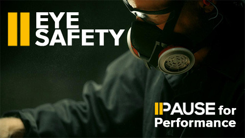 Pause for Performance: Eye Safety