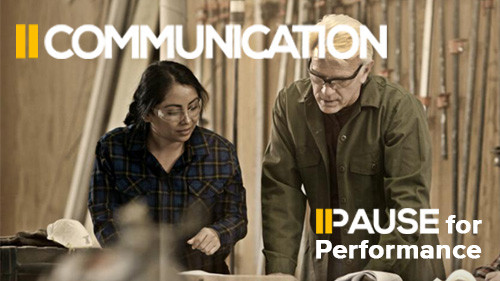 Pause for Performance: Communication