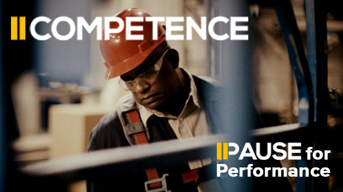 Pause for Performance: Competence