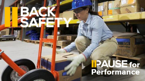 Pause for Performance: Back Safety