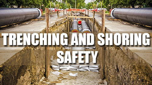 Construction Trenching and Shoring