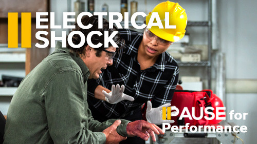 Pause for Performance: Electrical Shock