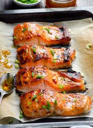 Baked Thai Salmon