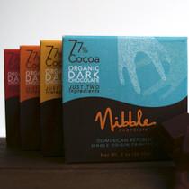 Four Bar Flight 77% Organic Dark Chocolate