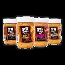 PB CRAVE 4-FLAVOR VARIETY PACK - Peanut Butter