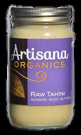 Raw Tahini  Raw 100% Organic Pure Ground Sesame Seeds