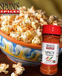 Spain's Gourmet Spicy Seasoning 5.1 oz - Gluten Free, Sugar Free, No MSG, No GMO
