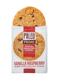 Vanilla Raspberry Paleo Cookies 12 pack