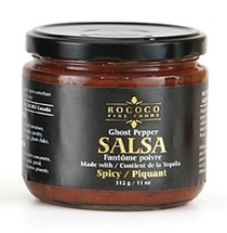 ALL NATURAL. GLUTEN FREE - GHOST PEPPER SALSA WITH TEQUILA