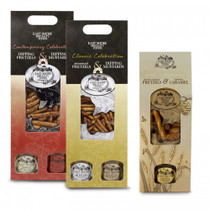 Gift Set Contemporary - Dipping Pretzels & Chipotle & Garlice / Pepper Mustard Sauces