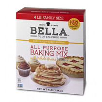 Bella Gluten Free All Purpose Baking Mix 4lbs - Case of 3