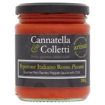 Sweet Ramiro Pepper Sauce With Chilli - Cannatella & Colletti