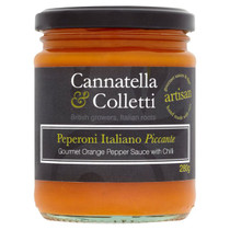 Sweet Orange Pepper Sauce with Chilli - Cannatella & Colletti