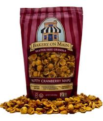 Nutty Cranberry Maple Granola