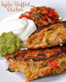 Fajita Stuffed Chicken