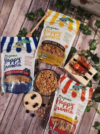Organic Happy Granola Sprouted Blueberry Flax