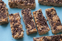 Peanut Butter Pretzel Chocolate Chip Granola Bars - includes 12 bars