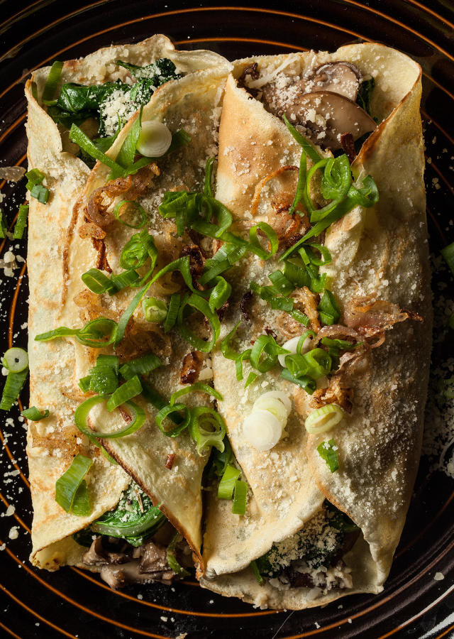 Spinach Crepes Recipe Food Network