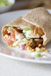 Chicken and Black Bean Burritos (GF)