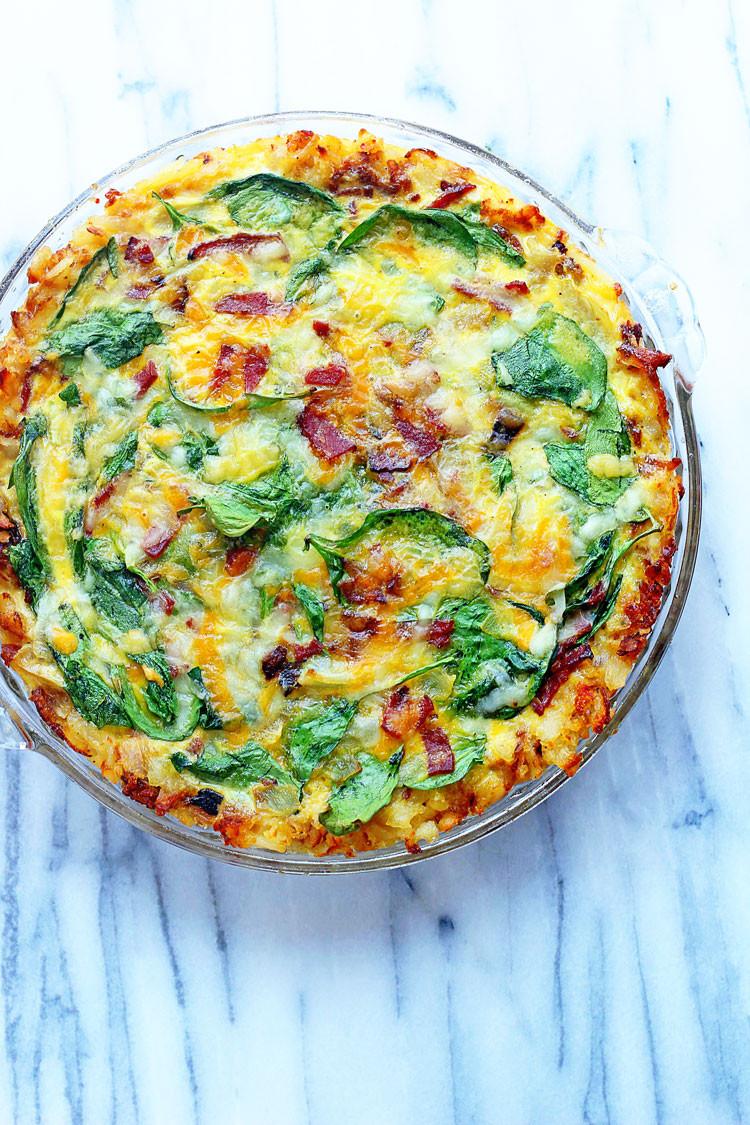 Spinach Quiche America S Test Kitchen