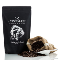 Sabertooth Roast Caveman Coffee