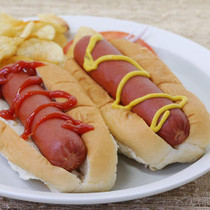 "Bison Hot Dogs, Skinless - 6"" - pack of 8, 3.2 oz ea"
