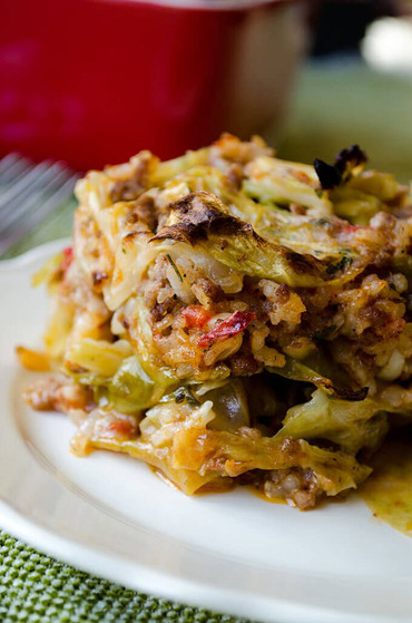 Stuffed Cabbage Casserole Food Network