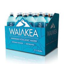 Case of Waiakea Hawaiian Volcanic Water - 12 Bottles x 1 Liter