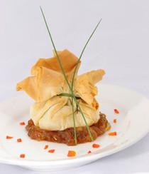 Caramel Apple in Beggar's Purse - 50 pieces per tray