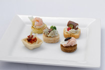 Cold Canapés Assortment - 50 pieces per tray