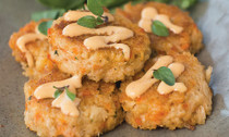 Crab Cakes - 40 pieces per tray