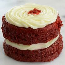 Southern Red Velvet Cake - Mini Cakes - 12 of 5.2 oz each