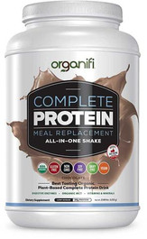 1 BOTTLE - DELICIOUS ORGANIFI CHOCOLATE PROTEIN