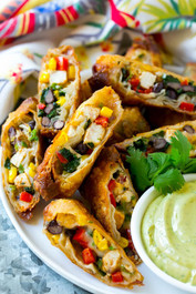 Southwestern Egg Rolls - 50 pieces per tray
