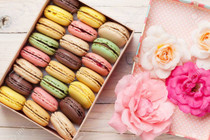 French Almond Macaroons - 12 piece box