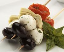Mediterranean Antipasto Skewer - 100 pieces per tray