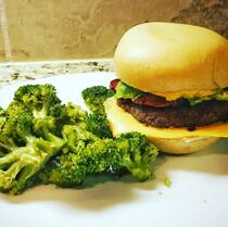 Great Low Carb Hamburger Buns 12oz bag of 6