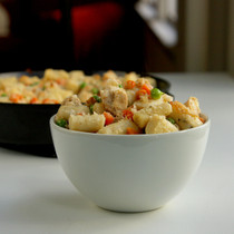 Chicken Pot Pie Gnocchi