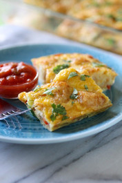 SOUTHWEST EGG AND TATER TOT CASSEROLE