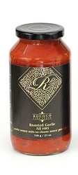 All Natural Pasta Sauce - Roasted Garlic with Chianti Wine