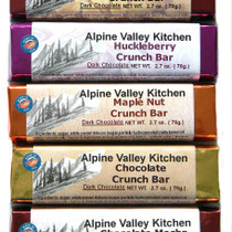 Milk / Dark Chocolate Crunch Bars - 5 flavors available