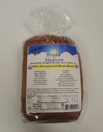 Organic 100% Stoneground Whole Wheat Bread - Sliced