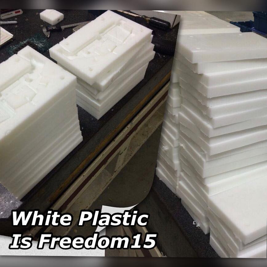 White Plastic is Freedom - Freedom15 Mold System