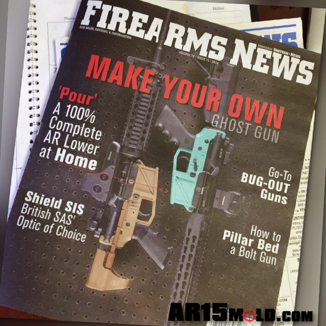 Freedom15 AR15 Cast at Home lower review in Firearms News Volume 70 issue 13 - 2016