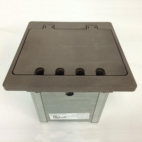 Electrical Box 2 Gang Electrical Box Brown Electrical